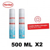 N. 2 LOCTITE SF 7080 HYGIEN SPRAY PROFESSIONAL 500 ML. SPRAY DISINFETTANTE GERMICIDA PROFESSIONALE MULTIUSO