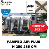 VERANDA PNEUMATICA GONFIABILE AIR PAMPEO PLUS H 250-265 CM SUMMERLINE PER CAMPER