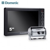 "SISTEMA VIDEO DI RETROMARCIA CON TELECAMERA ARGENTO E MONITOR HEAVY-DUTY DA 5"" DOMETIC PERFECTVIEW RVS 580"