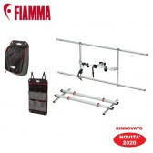 PORTA-BICI CARRY-BIKE GARAGE  PACK PLUS FIAMMA PER GAVONE CAMPER E MOTORHOME