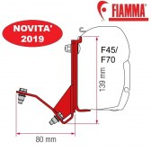 KIT FIAT DUCATO H2 LIFT ROOF HYMERCAR PÖSSL LIFT ROOF OPTIONAL PER TENDALINI FIAMMA F45 + F70 ADATTATORE STAFFE PER MINIVAN