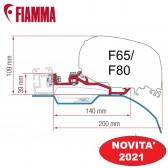 KIT SMART CLAMP DUCATO ≥ 2006 H2 - L2/L3/L4 STAFFA OPTIONAL PER TENDALINI FIAMMA F80 / F65  ADATTATORI