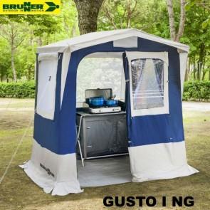 CUCINOTTO TENDA CUCINA GUSTO I NG BLU 150X150 CM BRUNNER PER CAMPEGGIO