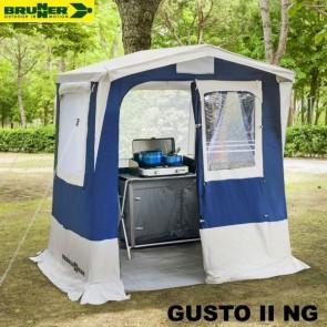 CUCINOTTO TENDA CUCINA GUSTO II NG BLU 200X150 CM BRUNNER PER CAMPEGGIO
