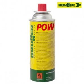 BOMBOLETTA CARTUCCIA A GAS POWERGAZ 227 BRUNNER PER FORNELLO PORTATILE DA CAMPEGGIO
