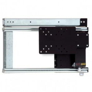 PORTA TELEVISIONE LCD MANUALE LATERALE SINISTRA PER CAMPER E CARAVAN