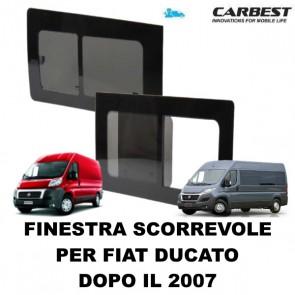 FINESTRA SCORREVOLE IN VETRO CARBEST PER FIAT DUCATO DAL 2007