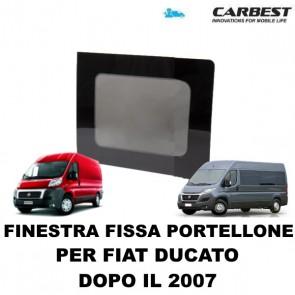 FINESTRA FISSA IN VETRO CARBEST PER PORTELLONE POSTERIORE FIAT DUCATO DAL 2007