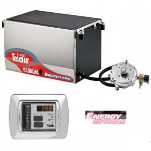 GENERATORE TELAIR ENERGY  2510G YAMAHA GAS - 2.5 KW - CON PANNELLO DI COMANDO AUTOMATICO ASP