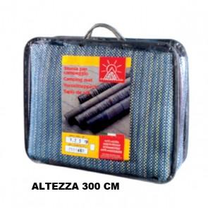 STUOIA STANDARD H 300 CM GRAMMATURA 300 GR/MQ AZZURRA. SCEGLI  LARGHEZZA