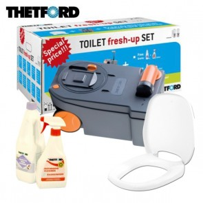 KIT TOILET FRESH-UP SET C250 - C260 THETFORD PER CAMPER E CARAVAN