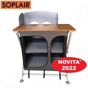 MOBILE PORTA-FORNELLO CON DISPENSA  DA CAMPEGGIO FIDJI SOPLAIR