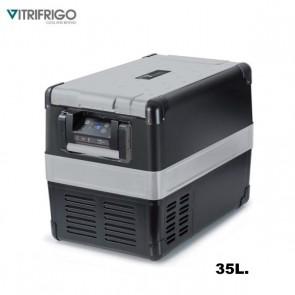 FRIGO-FREEZER PORTATILE VITRIFRIGO VF35P 35 LT A COMPRESSORE PER CAMPER CARAVAN BARCA CAMPEGGIO