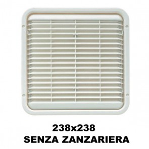 AREATORE DA APPOGGIO 238X238MM. SENZA ZANZARIERA