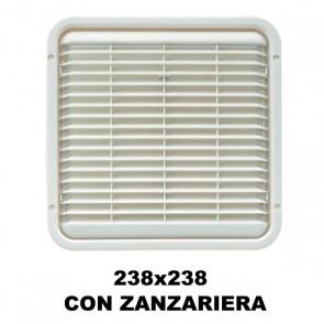 AREATORE DA APPOGGIO 238X238MM. CON ZANZARIERA PER CAMPER E CARAVAN