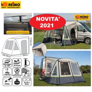 TENDA VERANDA LATERALE ONE BEAM AIR HIGH REIMO PER VAN FURGONI FURGONATI CAMPER