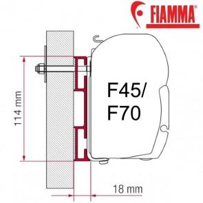 ADAPTER D OPTIONAL PER TENDALINI FIAMMA F45 + F70 ADATTATORE STAFFA DA 12 CM PER CAMPER E CARAVAN