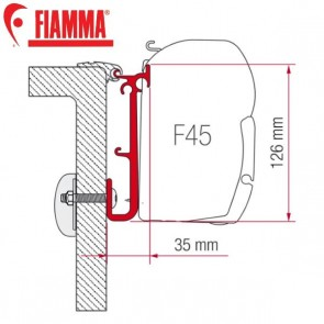98655-252 KIT CARAVAN ADAPTER STAFFA PER TENDALINI FIAMMA F45
