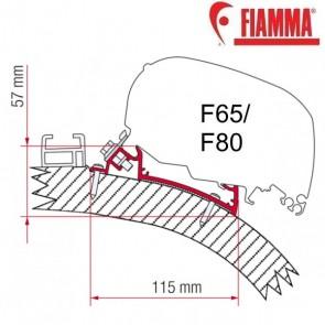 ADAPTER CARTHAGO CHIC 490 OPTIONAL PER TENDALINI FIAMMA F65 e F80 ADATTATORE STAFFE PER CAMPER