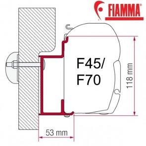 ADAPTER EURA MOBIL KARMANN OPTIONAL PER TENDALINI FIAMMA F45 + F70 ADATTATORE STAFFA DA 350 CM