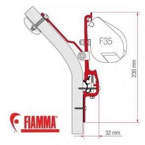 98655Z009 KIT ERIBA TOURING ADATTATORI STAFFE PER TENDALINO FIAMMA F35 RICAMBIO ORIGINALE FIAMMA