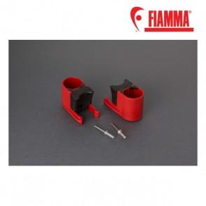 98656-042 BULL SHOCK ABSORBER RED 2 PEZZI RICAMBIO ORIGINALE FIAMMA