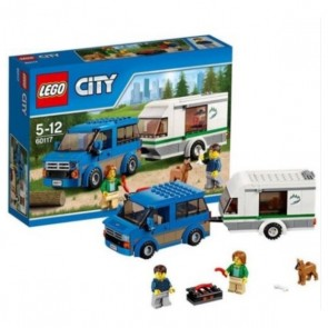 SET LEGO CITY - FURGONE CON CARAVAN