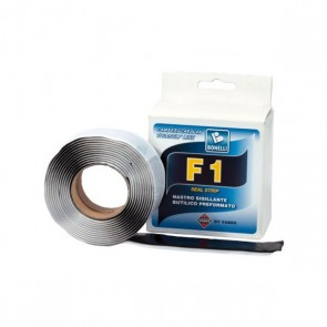 NASTRO SIGILLANTE BUTILICO PREFORMATO F1 SEAL STRIP 30X2 MM CAMPER CARAVAN - COLORE BIANCO
