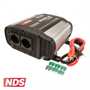 INVERTER NDS SMART-IN SM-1500 1500 W 12V A ONDA MODIFICATA CON PRESA USB PER CAMPER CARAVAN BARCA