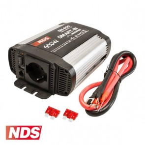 INVERTER NDS SMART-IN SM-600 600 W 12V A ONDA MODIFICATA CON PRESA USB PER CAMPER CARAVAN BARCA