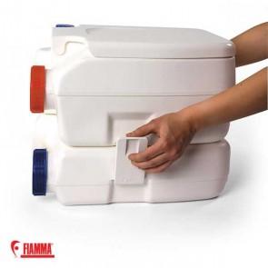 TOILETTE WC PORTATILE BI-POT 30 FIAMMA 11+11 LITRI SMALL DA CAMPEGGIO
