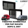 FINESTRA SCORREVOLE IN VETRO CARBEST PER FIAT DUCATO DAL 2007. VEDI MODELLO