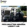 TENDA PROLUNGA STANZA AGGIUNTIVA PER VERANDA GONFIABILE LIBERTY AIR SUMMERLINE