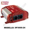 INVERTER NDS SMART-IN SP-3000-24 24V-3000W A ONDA SINUSOIDALE PURA CON PRESA USB